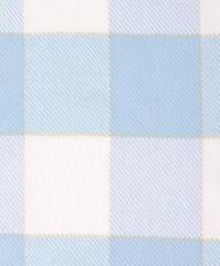 Элитный плед детский хлопковый Vanessa голубой от Luxberry