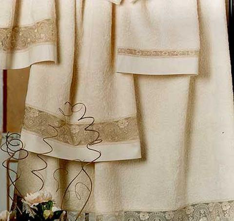 Полотенце 100х150 Lady Laura Dennis слоновой кости