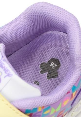 Кроссовки Минни Маус (Minnie Mouse) на липучке для девочек, цвет сиреневый. Изображение 8 из 8.