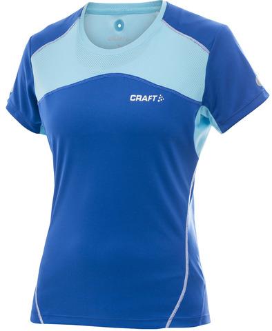 Футболка беговая женская Craft Performance синяя