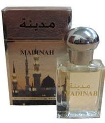 Духи натуральные масляные MADINAH / Медина / 15 мл / ОАЭ/ Al Haramain