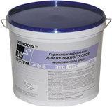 WS (WINDOW SYSTEM) Акриловый герметик для наружного шва (серый)