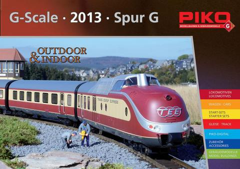 99703 Каталог продукции PIKO 2013 года, масштаб G (на немецком языке)
