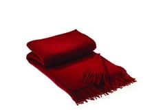 Плед 230х250 Qashmare от Hamam красный