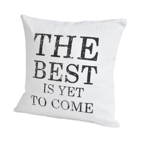 Элитная подушка декоративная Script The Best от Casual Avenue
