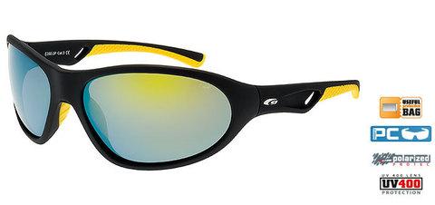 Солнцезащитные очки goggle EGZO black/yellow