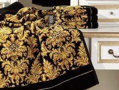 Элитный плед шенилловый Sanssouci 10 schwarz от Feiler