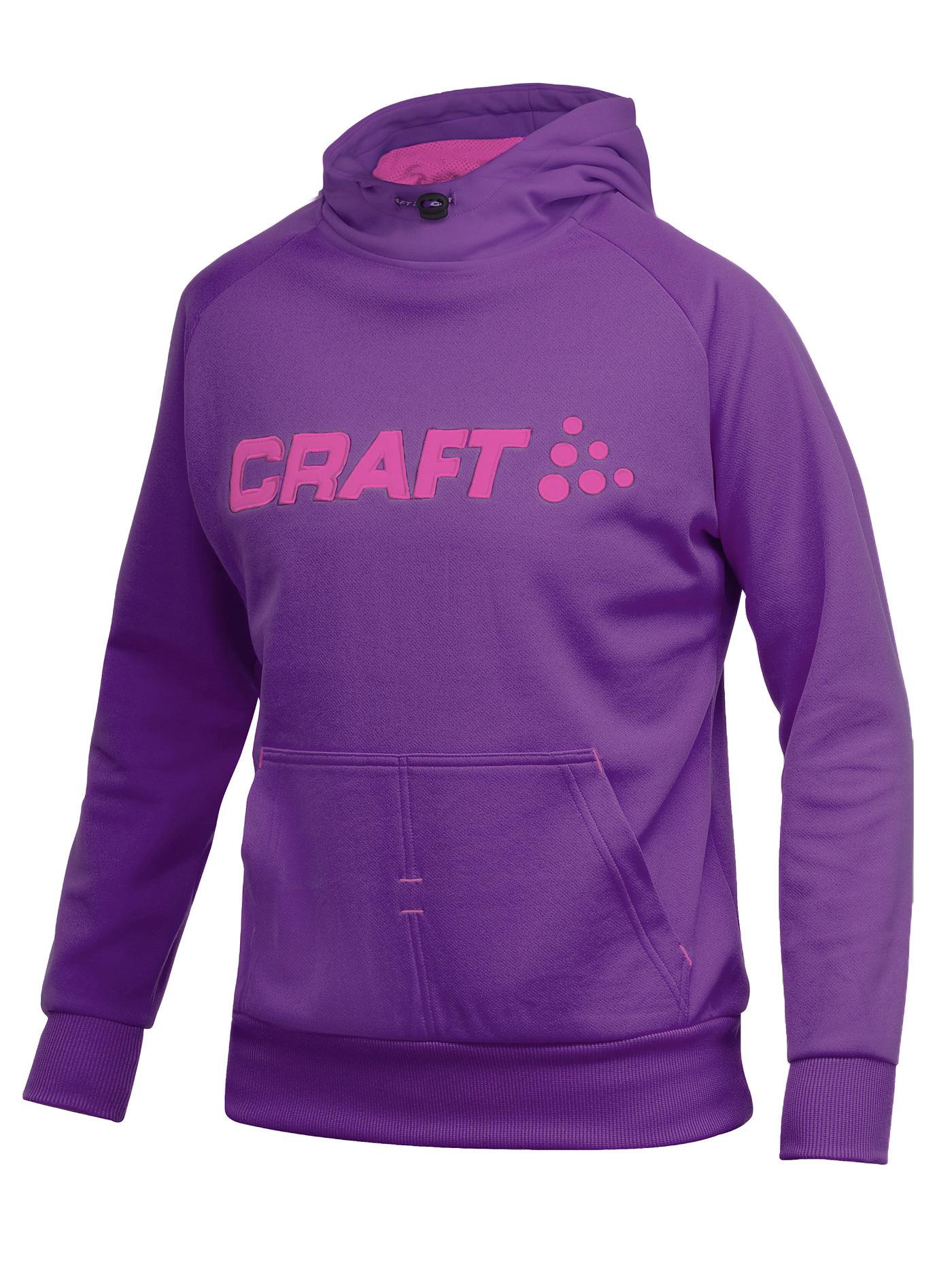 Толстовка Craft Flex Hood женская фиолетовый