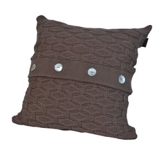 Элитная подушка декоративная Ponte Vecchio коричневая от Casual Avenue