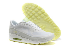 Кроссовки женские Nike Air Max 90 HyperFuse White Green Lights
