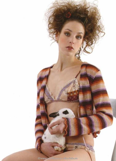 Женская домашняя накидка Rebecca & Bros (Женские халаты)
