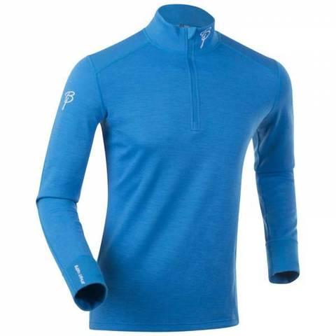 Термобелье Bjorn Daehlie Half Zip Active LS рубашка blue