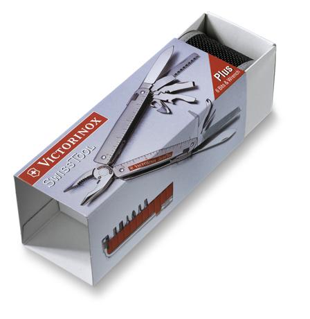 Мультитул Victorinox SwissTool Spirit 27 кожаный чехол с поворотным креплением (3.0227.L1)