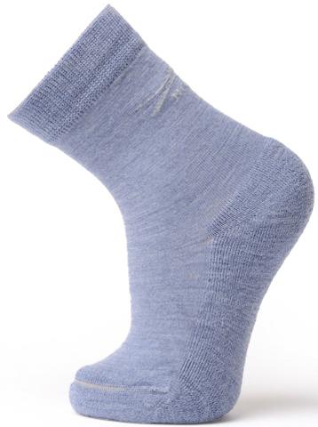 Термоноски Norveg Soft Merino Wool детские голубые