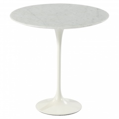 стол  tulip coffee table with marbor top