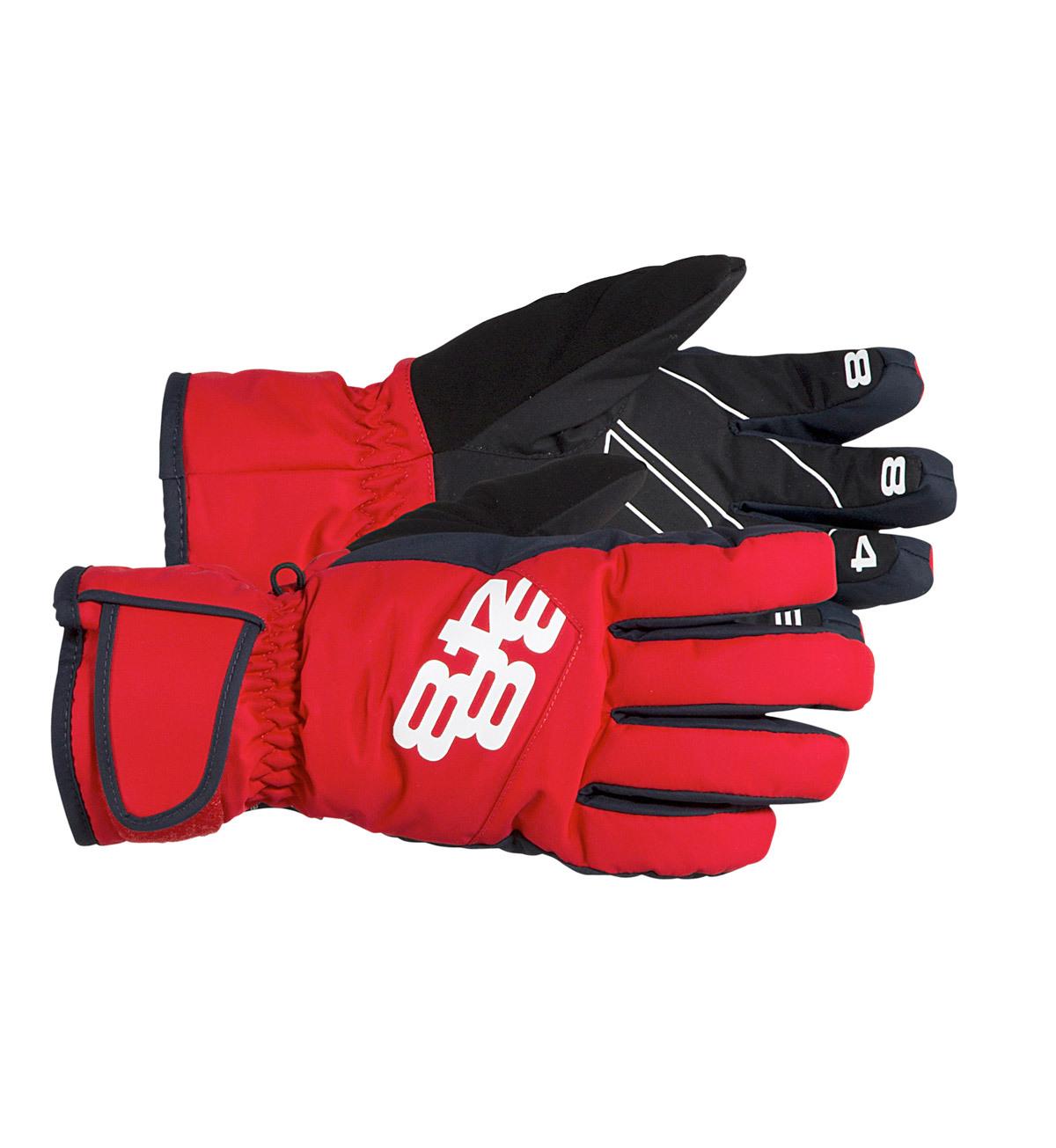 Перчатки 8848 Altitude Alex подростковые Red