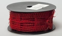 Лента Florima 4см*9м красный