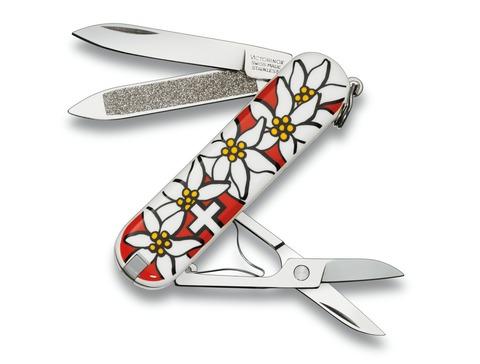 Нож брелок Classic Edelweiss Victorinox (0.6203.840)