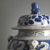Ваза декоративная Балюстер синяя от Roomers