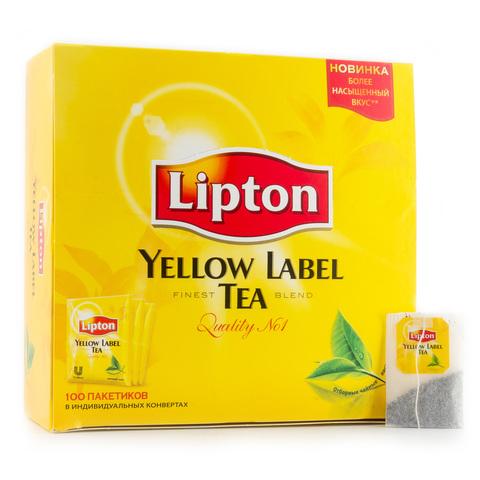 Чай Lipton черный 100*2 г