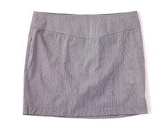 91283-1 юбка детская, бело-фиолетовая