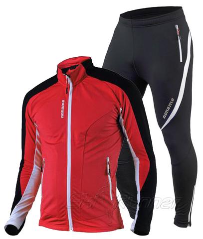 Утепленный лыжный комбинезон Noname Thermo Red-White
