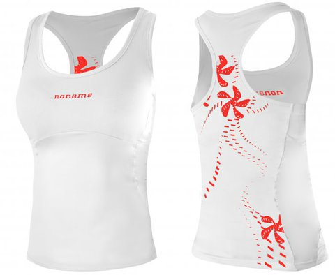 Майка Noname Fama 13, white/red, wo's