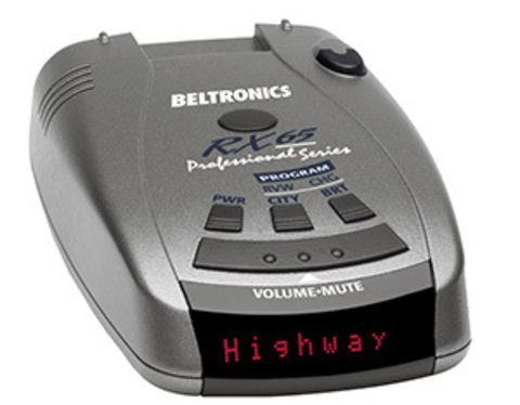 Антирадар (радар-детектор) Beltronics RX65 international (красный)