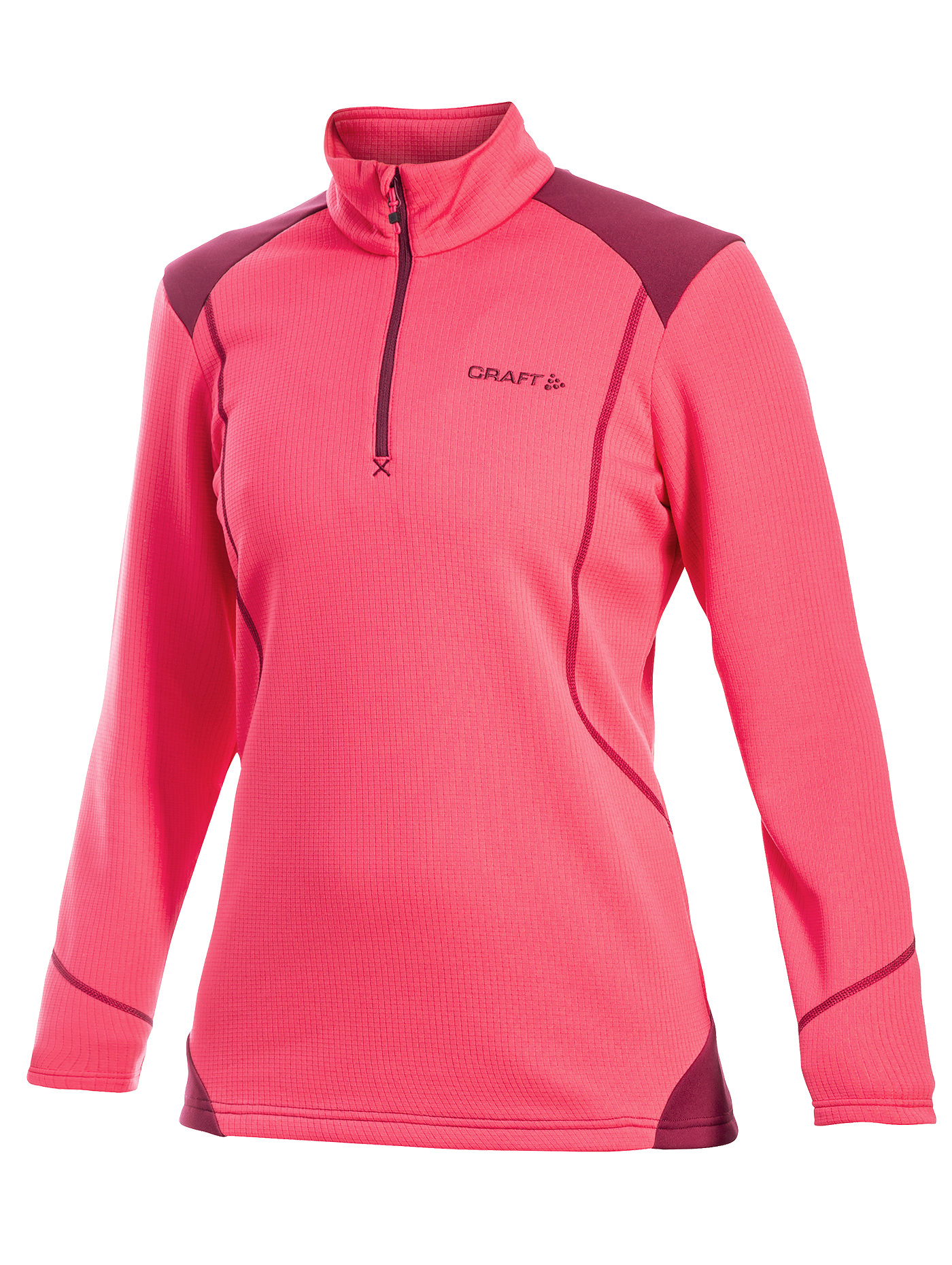 Толстовка Craft Shift Free женская pink 1902250-3477