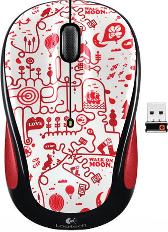 LOGITECH M325 Red Smile