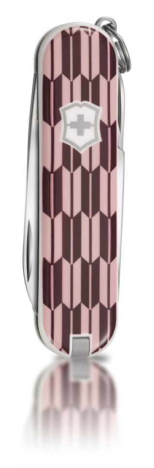 "Нож-брелок Victorinox Classic LE 2010, 58 мм, 7 функций, ""Arrows"""