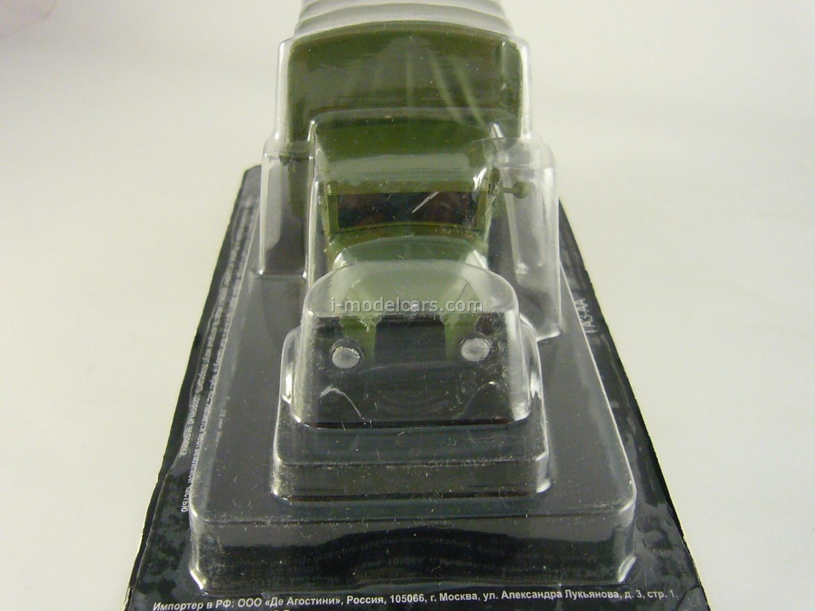 GAZ-AA green 1:43 DeAgostini Auto Legends USSR #79