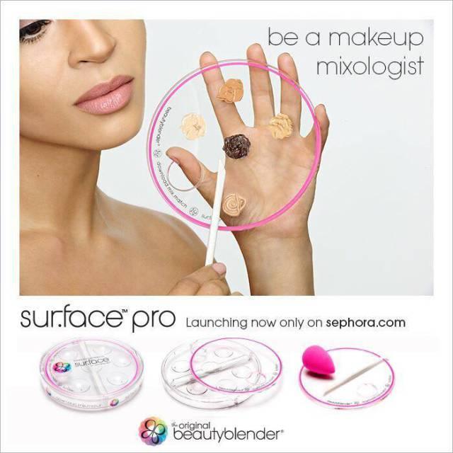 Палитра для макияжа Sur.Face Pro