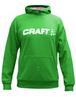 Толстовка Craft Flex Hood женская зеленая