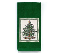 Полотенце 54x71 Avanti Spode Christmas Tree зеленое