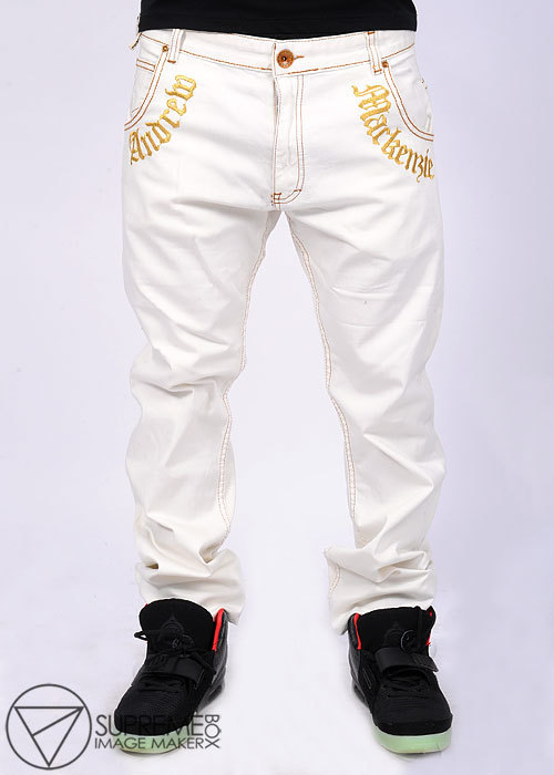 Белые мужские джинсы доставка