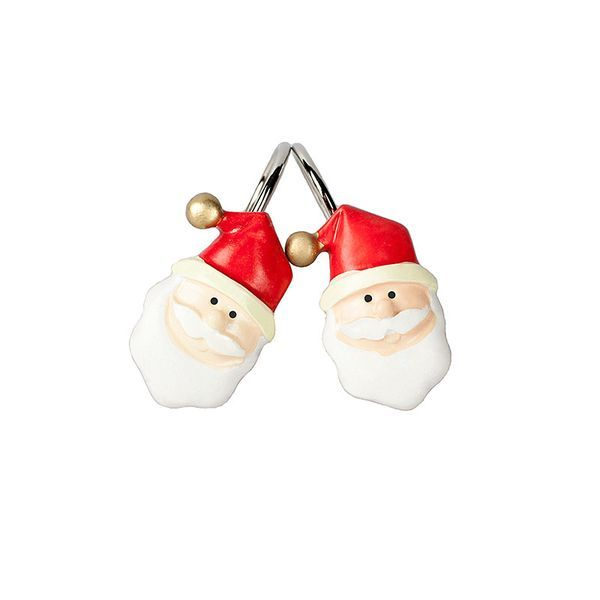 Крючки Набор из 12 крючков для шторки Carnation Home Fashions Santa Claus nabor-kryuchkov-dlya-shtorki-santa-claus-ot-carnation-home-fashions-ssha-kitay.jpg