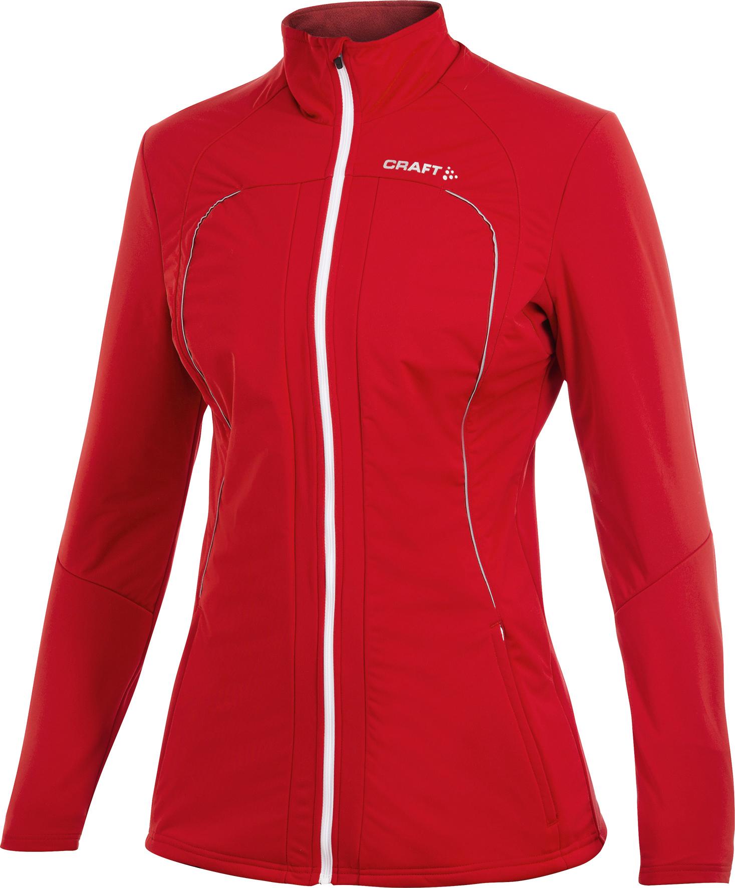Женская лыжная куртка Craft Storm Red (194663-1430)
