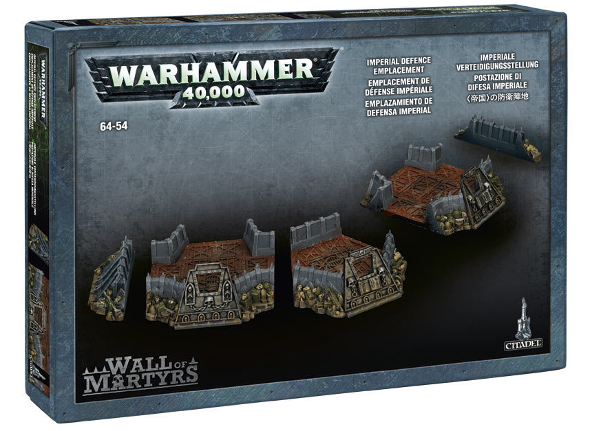 Wall of Martyrs - Imperial Defence Emplacement