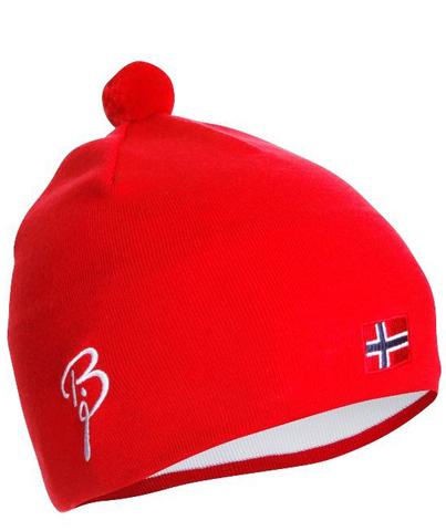 Лыжная шапка Bjorn Daehlie Classic Flag Hat красная