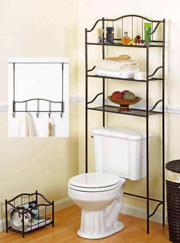 Набор держателей для аксессуаров и полотенец Complete Bath Series 20060-ORB от Creative Bath США-Китай