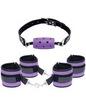 Набор Purple Pleasure: эротические наручники