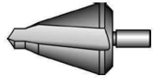 Коническое сверло N4 (ø 26 - 40мм), Bucovice 542400