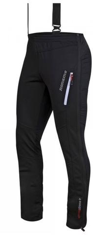 Лыжные брюки-самосбросы унисекс Noname Flow in motion 15 черные