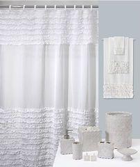 Элитная шторка для ванной Ruffles от Creative Bath