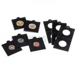 Холдер самокл. черный для монет D до 20 mm 50х50