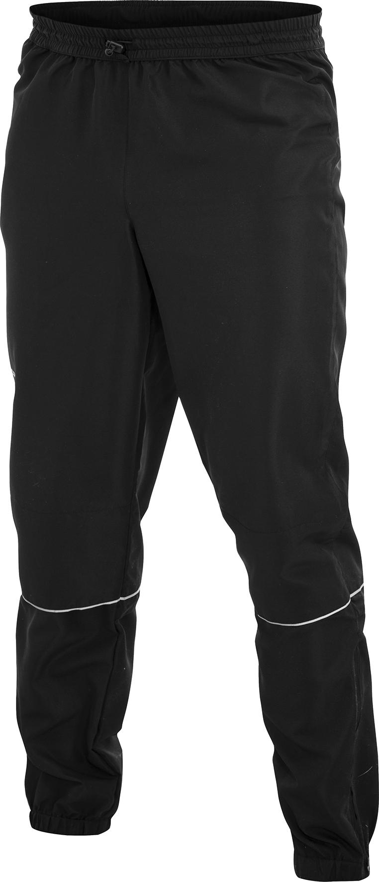 Мужские брюки для бега крафт Active Run (1902219-9999) черные