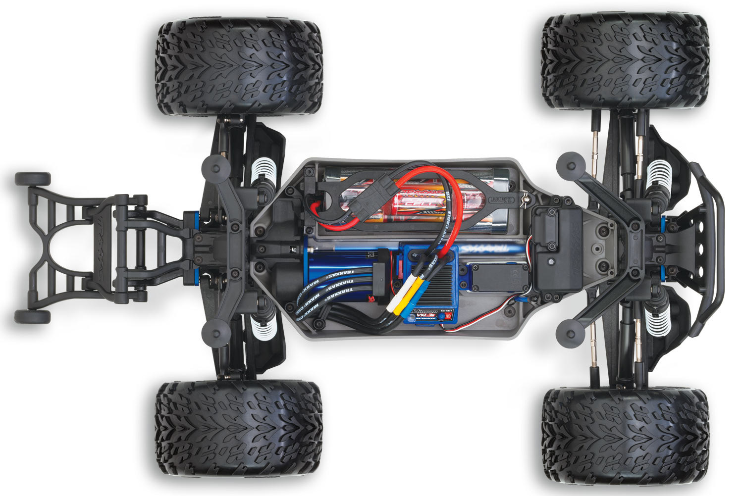 1/10 EP 4WD Stampede Brushless TQi 2.4 RTR
