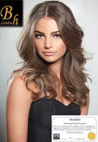 Волосы на  капсулах оттенок #10A-длина 52 см