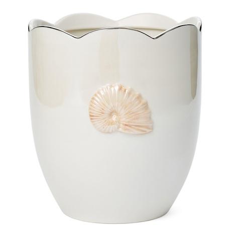 Ведро для мусора Mare Shells Pearl от Kassatex